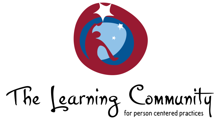The Learning Community for Person Centered Practices logo.